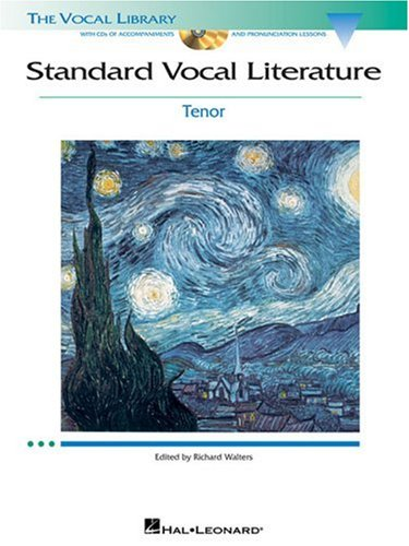 Standard Vocal Literature Tenor N/A edition cover