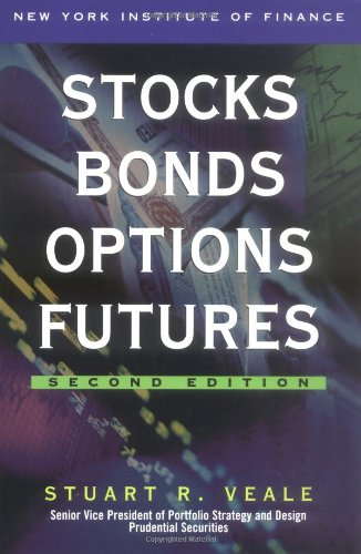 Stocks, Bonds, Options, Futures  2nd 2001 edition cover