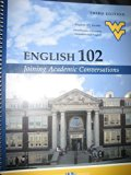 ENGLISH 102:JOINING ACAD.CONVERSATIONS N/A edition cover