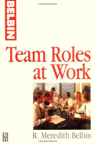 Team Roles at Work   1993 edition cover