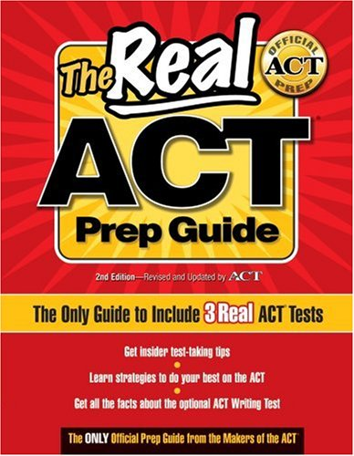 Real ACT Prep Guide The Only Official Prep Guide from the Makers of the ACT 2nd edition cover