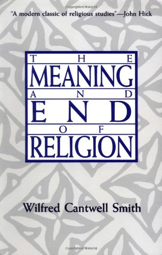 Meaning and End of Religion  N/A edition cover
