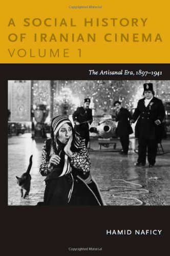 Social History of Iranian Cinema The Artisanal Era, 1897-1941  2011 edition cover
