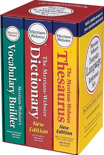 Merriam-Webster's Everyday Language Reference Set   2010 9780877798750 Front Cover