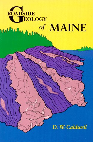 Roadside Geology of Maine Revised edition cover