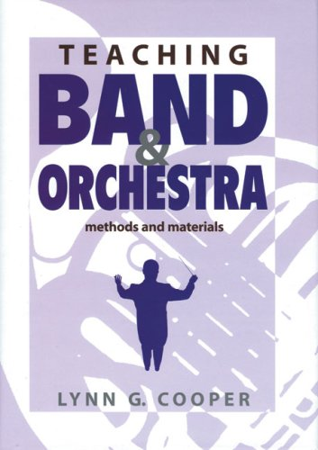 Teaching Band and Orchestra Methods and Materials  2004 edition cover