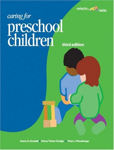 Caring for Preschool Children  3rd 2004 9781879537750 Front Cover