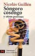 Songoro cosongo y otros poemas / Songoro cosongo and other Poems: 1st 2002 edition cover