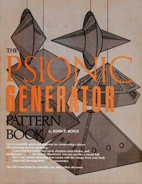 Psionic Generator Pattern Book N/A 9780137369751 Front Cover