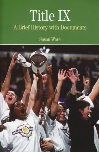 Title IX A Brief History with Documents  2007 9780312445751 Front Cover