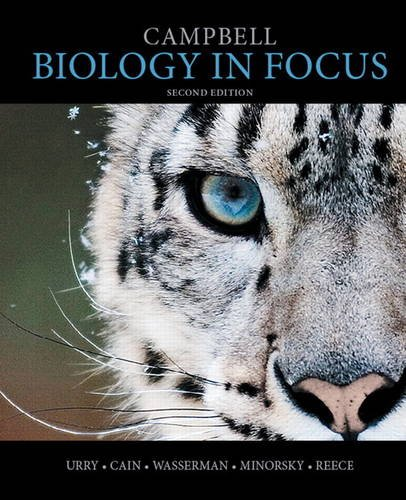 Campbell Biology in Focus 2nd 2015 edition cover