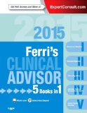 Ferri's Clinical Advisor 2015 5 Books in 1, Expert Consult - Online and Print  2014 edition cover