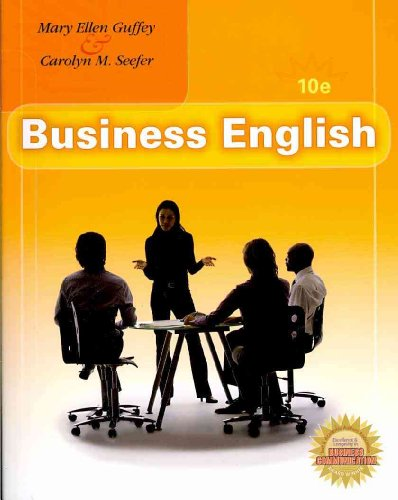 Business English (Book Only)  10th 2011 edition cover