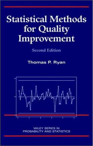 Statistical Methods for Quality Improvement  2nd 2000 (Revised) edition cover
