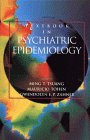 Psychiatric Epidemiology   1995 9780471593751 Front Cover
