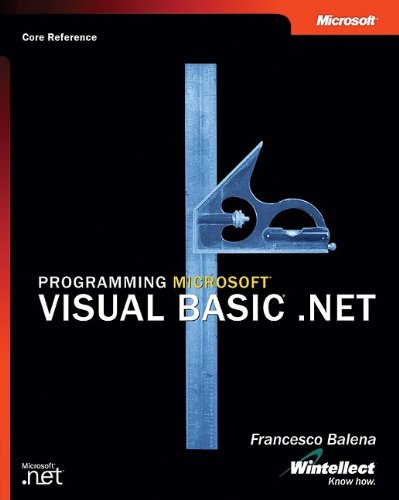 Programming Microsoft Visual Basic . NET   2002 9780735613751 Front Cover