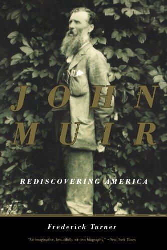John Muir Rediscovering America  2000 (Reprint) edition cover