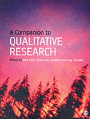 Companion to Qualitative Research   2004 9780761973751 Front Cover