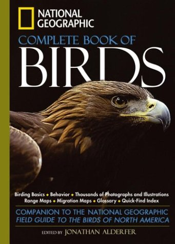 National Geographic Complete Birds of North America   2005 edition cover