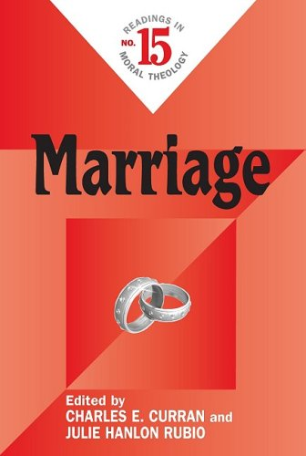 Marriage Readings in Moral Theology No. 15  2009 edition cover