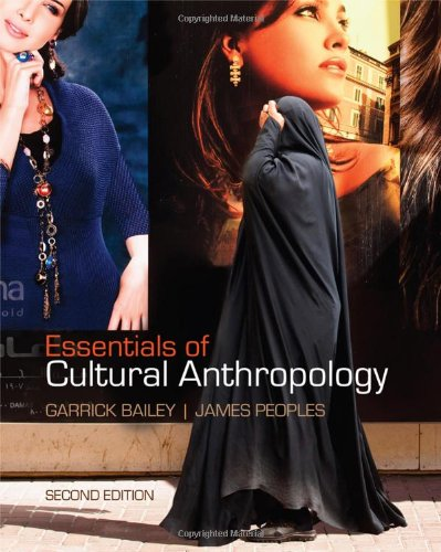 Essentials of Cultural Anthropology  2nd 2011 9780840032751 Front Cover