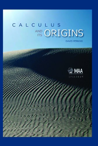 Calculus and Its Origins   2012 edition cover