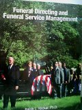 Funeral Directing and Funeral Service Management  N/A edition cover