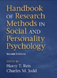 Handbook of Research Methods in Social and Personality Psychology  2nd 2013 (Revised) edition cover