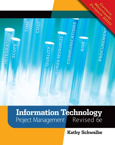 Information Technology Project Management  6th 2011 (Revised) 9781111221751 Front Cover
