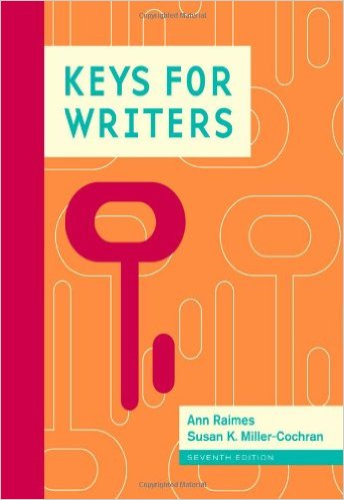 Keys for Writers  7th 2014 edition cover