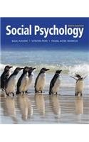 Social Psychology:   2013 edition cover