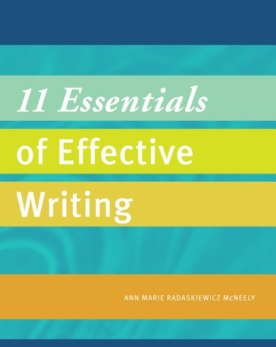 11 Essentials of Effective Writing   2014 edition cover