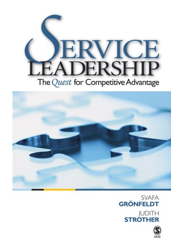 Service Leadership The Quest for Competitive Advantage  2006 edition cover