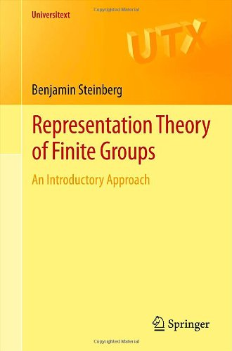 Representation Theory of Finite Groups An Introductory Approach  2012 edition cover