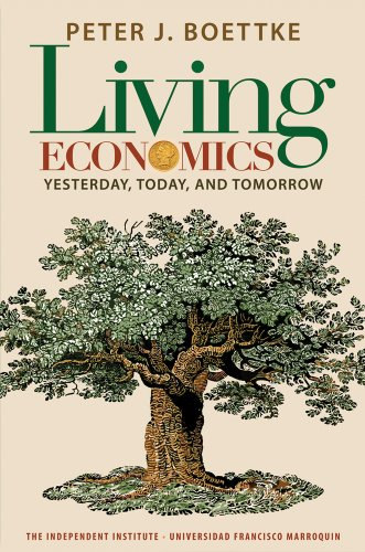 Living Economics Yesterday, Today, and Tomorrow  2012 edition cover
