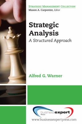 Strategic Analysis and Choice A Structured Approach  2010 edition cover