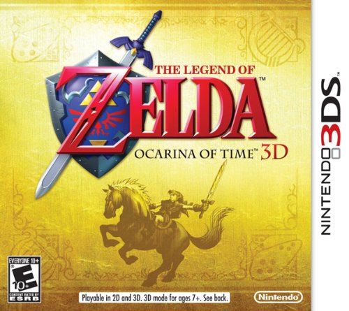 The Legend of Zelda: Ocarina of Time 3D Nintendo 3DS artwork