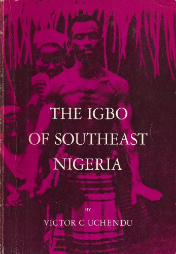 Igbo of Southeast Nigeria 1st 1965 edition cover
