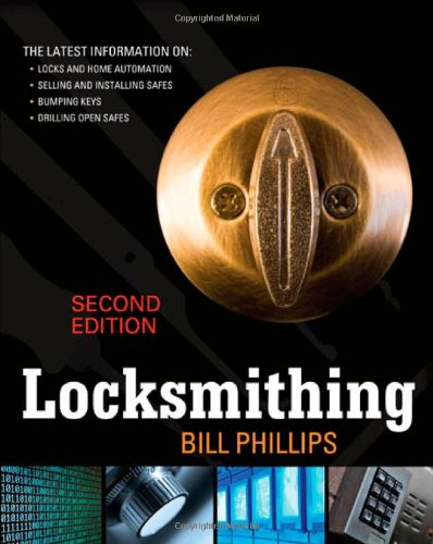 Locksmithing  2nd 2010 edition cover