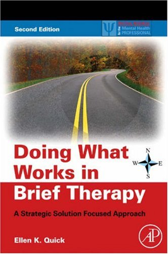 Doing What Works in Brief Therapy A Strategic Solution Focused Approach 2nd 2008 edition cover
