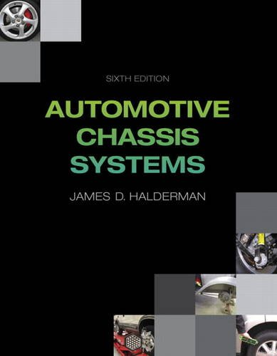 Automotive Chassis Systems  6th 2014 edition cover