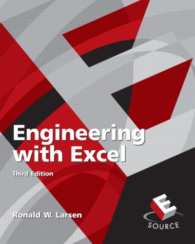 Engineering with Excel  3rd 2009 9780136017752 Front Cover
