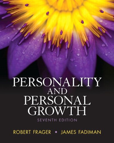 Personality and Personal Growth  7th 2013 edition cover