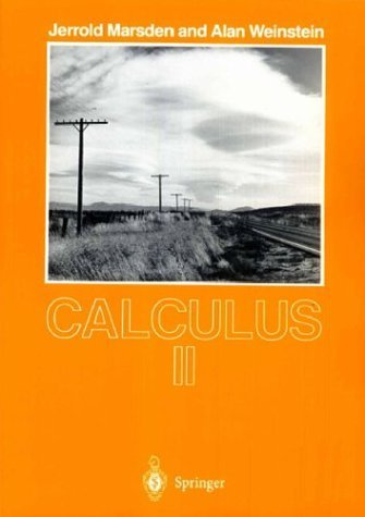 Calculus II  2nd 1985 (Revised) edition cover