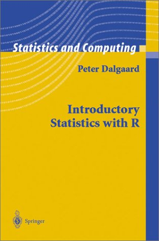 Introductory Statistics with R   2004 edition cover