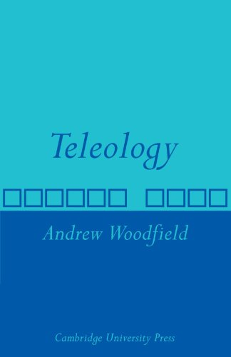 Teleology   2010 9780521143752 Front Cover