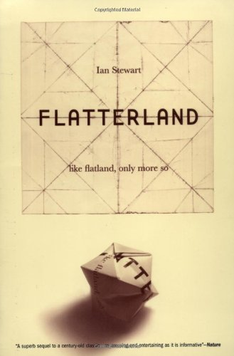 Flatterland Like Flatland Only More So Reprint  9780738206752 Front Cover
