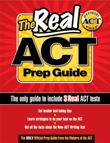 Real Act Prep Guide   2005 edition cover