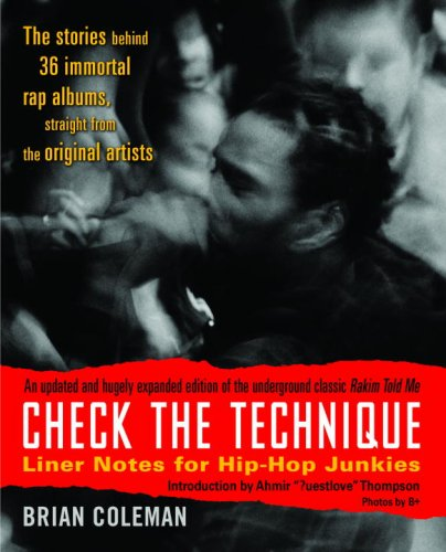 Check the Technique Liner Notes for Hip-Hop Junkies  2007 edition cover