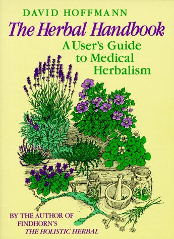 Herbal Handbook A User's Guide to Medical Herbalism  1988 edition cover